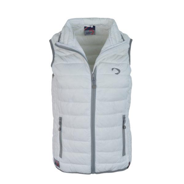 doudoune sans manche VG K6114 blanc boutique vendée globe 2020