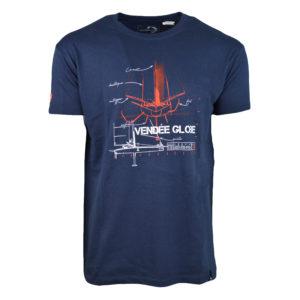 t-shirt etrave marine vendée globe 2020