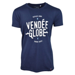 t-shirt wave marine vendée globe 2020