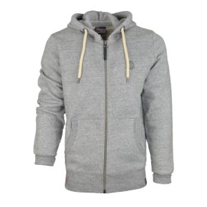 sweat zippé à capuche VG KV2306 gris boutique vendée globe 2020