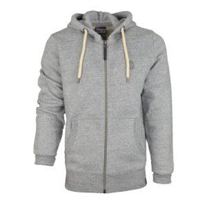 sweat zippé à capuche VG KV2306 gris boutique vendée globe 2020