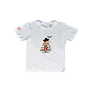 t-shirt regents pirate blanc vendée globe 2020