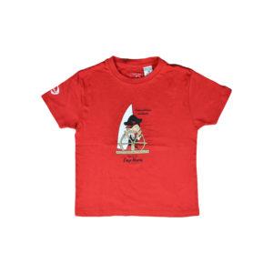 t-shirt regents pirate rouge vendée globe 2020