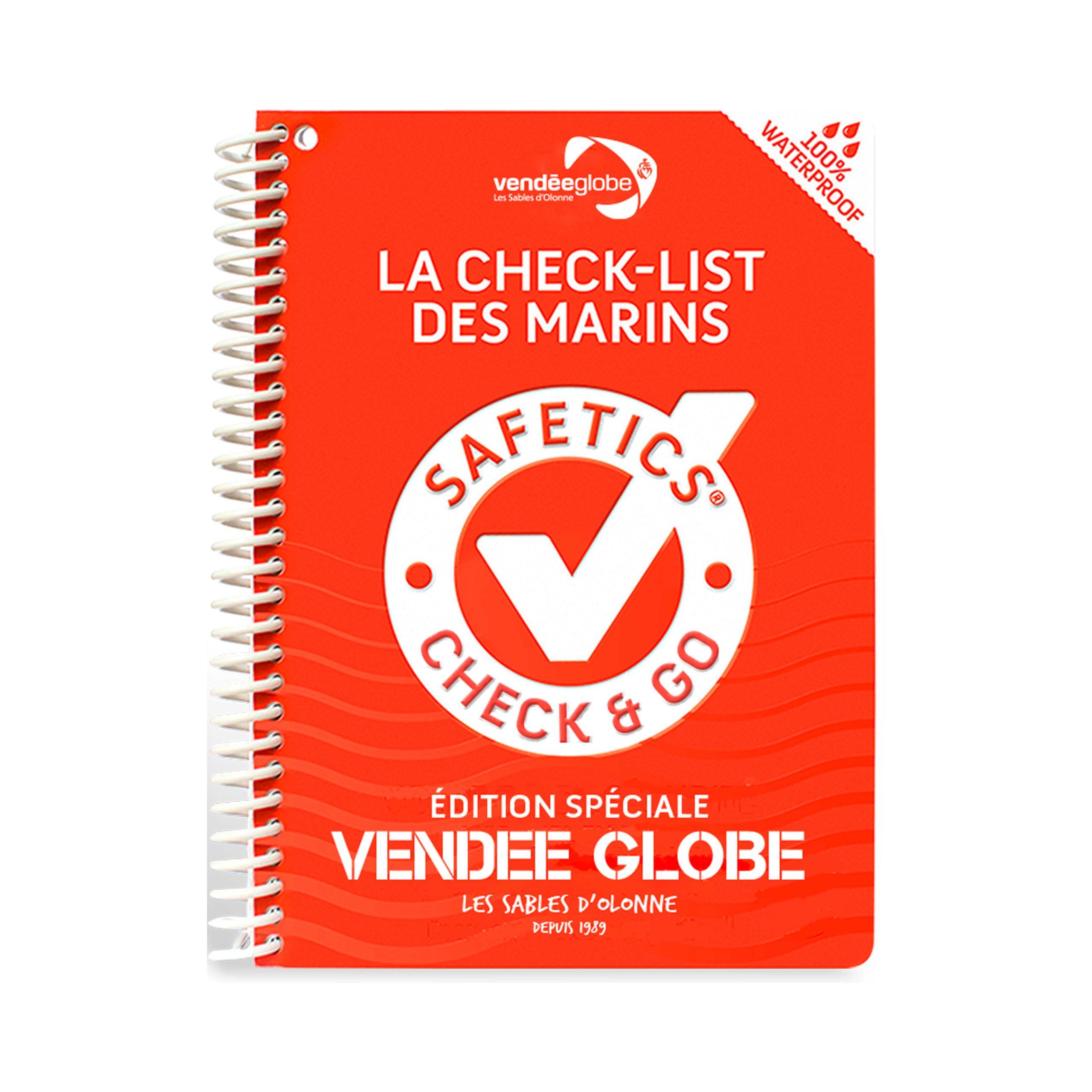 Livre La Check List Des Marins Boutique Vendee Globe